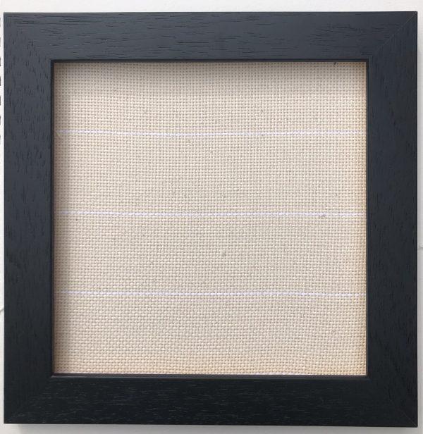 Black wooden frame, 1 inch square, depth 0.5 inch