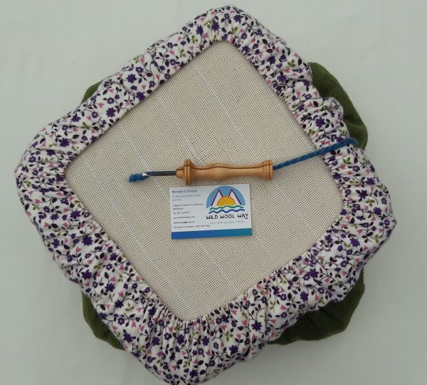 Gripper frames for punch needle with a cover