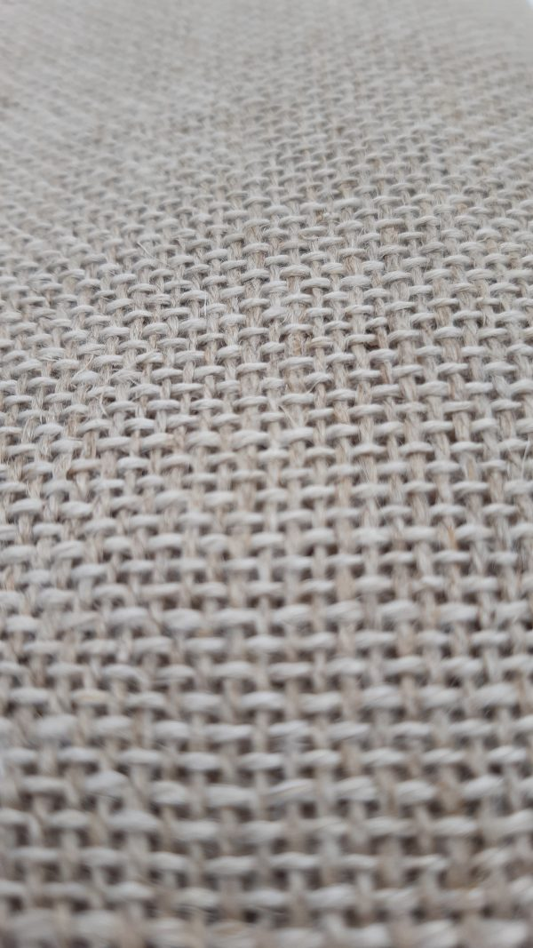 Linen is one of foundation cloths for punch needle craft