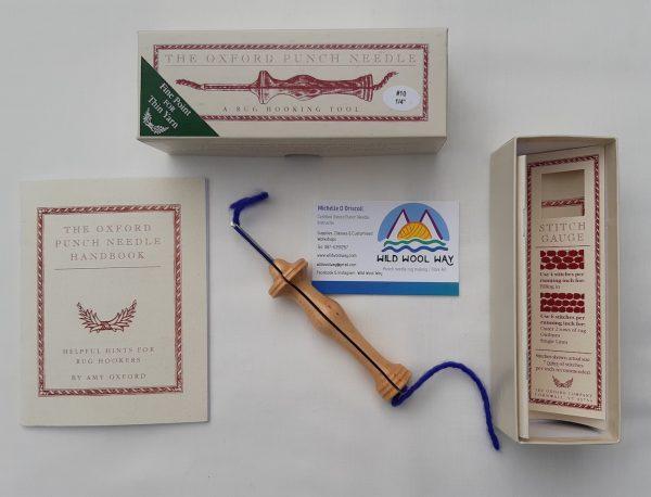 Boxed Oxford Punch Needle 10 Fine