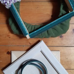 Quality frames for punch needle at Wild Wool Way