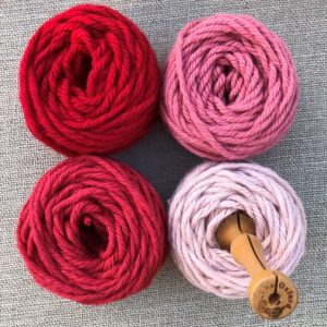 Berry Berry Yarn Pack with oxford Punch Needle